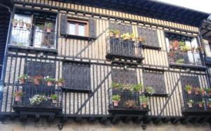 Fachada de La Alberca