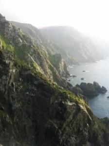 Acantilados desde Cabo Ortegal
