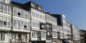 Calle en Viveiro.