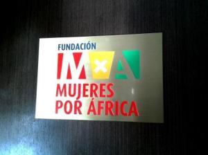 Entrada Fundación Mujeres por África